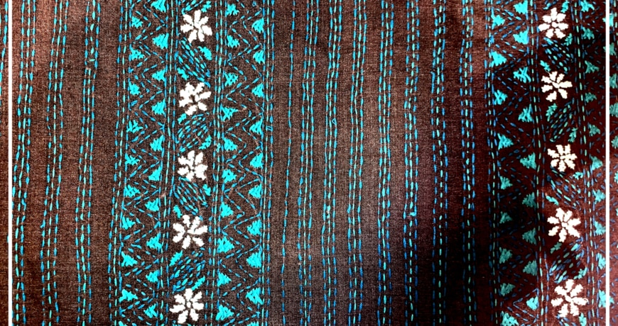 Kantha Embroidery Image